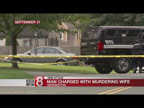 Man charged with murdering wife