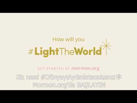 3. Gün #DünyayıAydınlat: Şabat Günü—Mormon.org Noel 2017