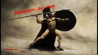 Rammstein - Du Hast : les 300  movie ( instrumental ) HD 1080
