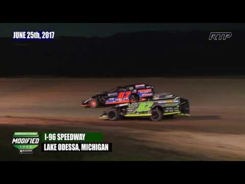 2017 American Ethanol Shootout - AEMT Feature Event At I-96 Speedway (HIGHLIGHTS)