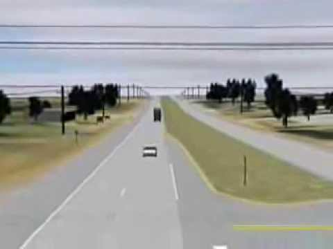 Truck Car Animation for Litigation by CSI Forensics 281-615-2306