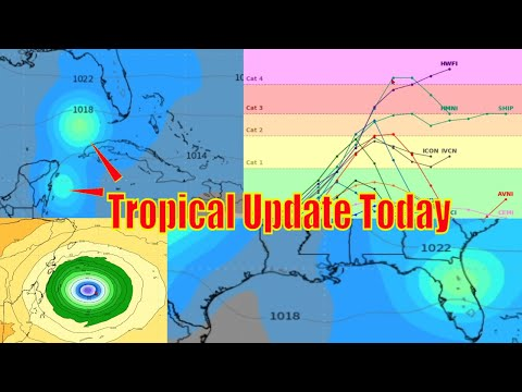 Tropical Update Today, 2 Caribbean Storms? - The WeatherMan Plus Weather Channel