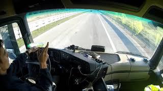 Řidič kamionu. Trable, věk řidiče, začátky