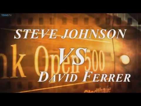 2015 Erste Bank Open Vienna Final - David Ferrer v Steve Johnson