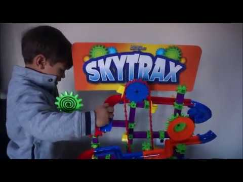 SkyTrax Marble Mania Marble Maze with Chain Lifter Kids Toys
