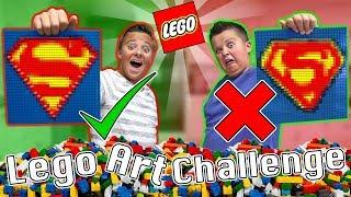 Lego Art Challenge!! 🤣