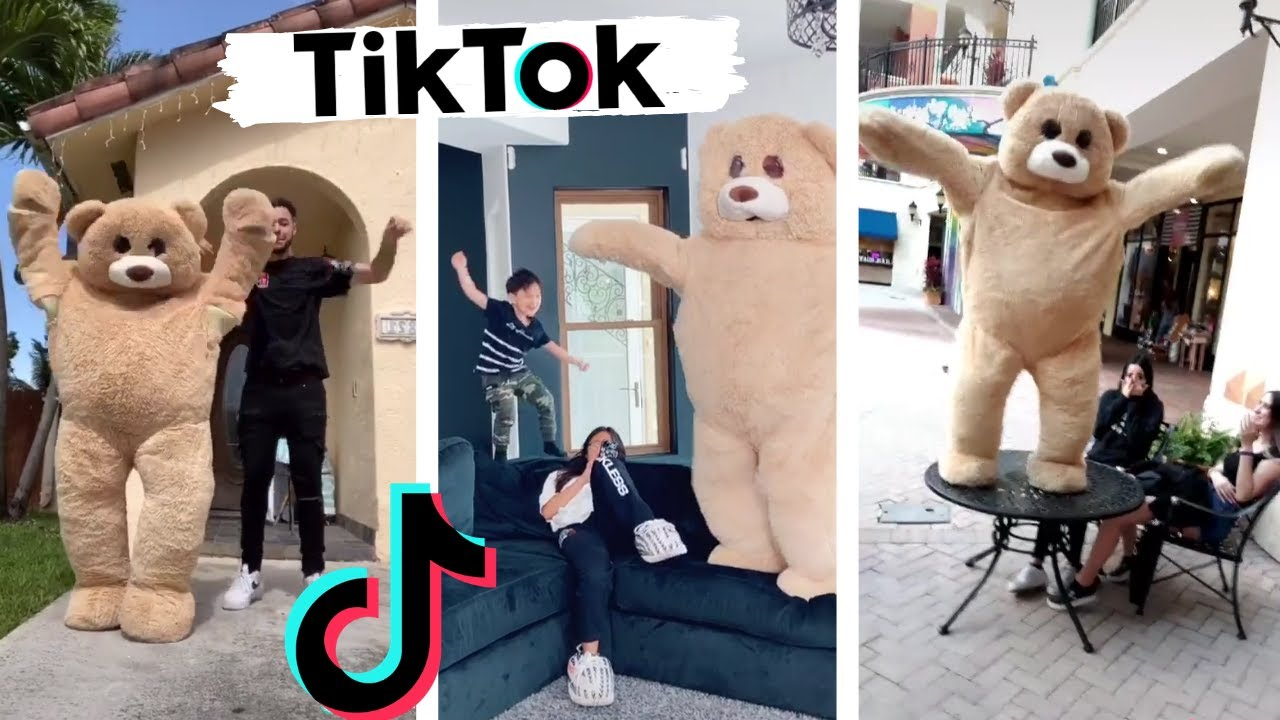 Best of Tik Tok Ted ~ Funny TIKTOK Dance Compilation featuring Michael Le & Jonathan ~ Shluv House