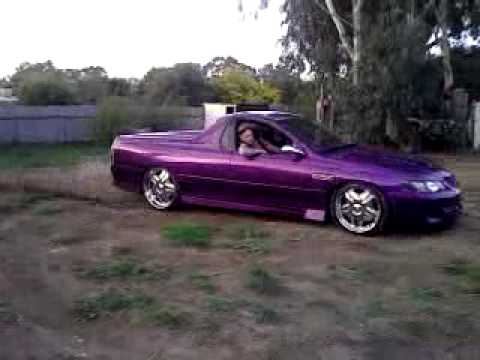 My Bagged Vy Ute On 22s And Shaved Youtube