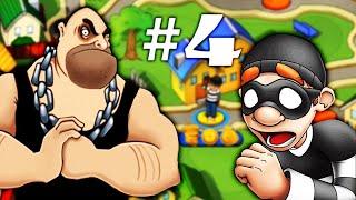ВОРИШКА БОБ [4] Игровой мультик для детей новая серия Мультик Игра на Андройд (Robbery Bob 4 серия)