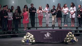 LHS 'L' Pin Awards and National Honor Society 2017