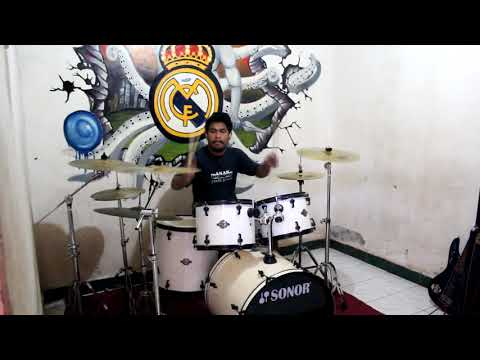 Akad (Cover) - Versi ROCK - Payung teduh (drum cover)
