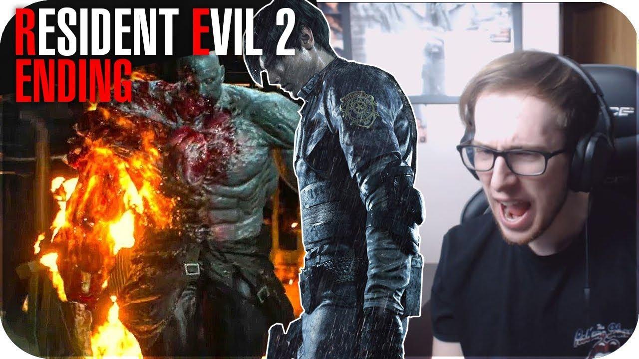 Resident Evil 2 Remake Walkthrough Gameplay Ending G3 Super