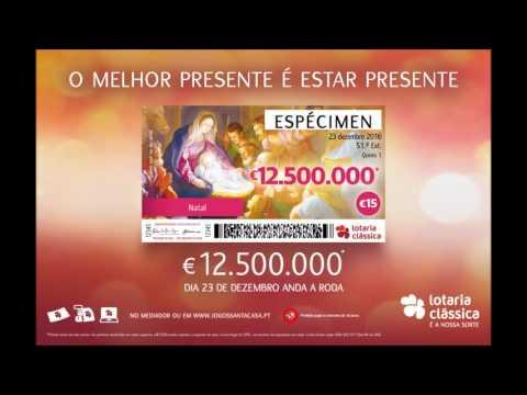 SCML - Campanha da Lotaria do Natal - Spot Radio