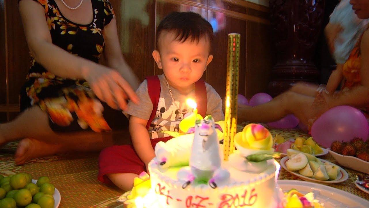 Sinh nhật bé Bảo Long 1 Tuổi 4-7-2016 ( Full HD )