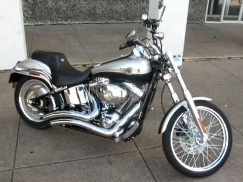 2003 HarleyDavidson Softail Deuce Vance & Hines Pipes
