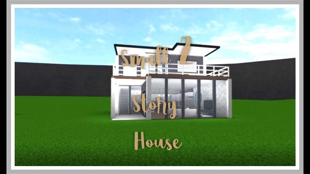 Roblox bloxburg small 2 story house cheap small modern house read the description