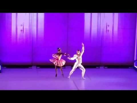 The Nutcracker. The Sugar Plum dance. Brooklyn Ballet at Brooklyn Museum.