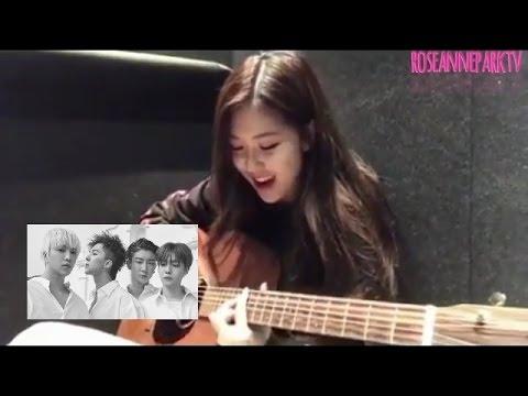 [ENG] Blackpink's Rosé Singing Winner's Really Really