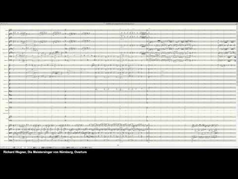 Wagner Overture Die Meistersinger von Nürnberg - Programed in Finale 2014 by pkmtKuma