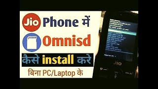 How to install omnisd in jio phone without pc videos
