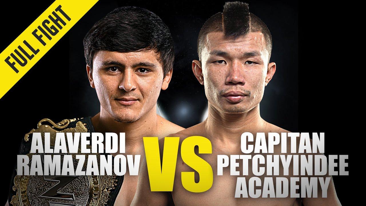 Alaverdi Ramazanov vs. Capitan | ONE Championship Full Fight