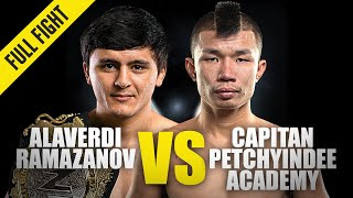 Alaverdi Ramazanov vs. Capitan | ONE Championship Full Fight