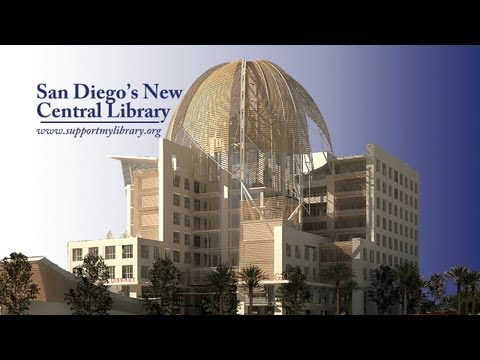 San Diego's New Central Library - a center for learning, literacy and education