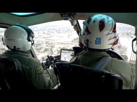 LAPD AIR SUPPORT RIDE ALONG