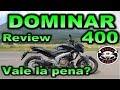 Prueba Dominar 400  Bajaj |Review en Español con Blitz Rider