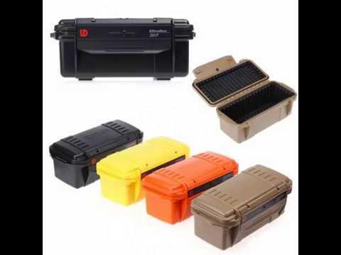 Compact Waterproof/Shockproof EDC Tool Storage Box