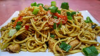 Easy Chicken Chow Mein Recipe | Indian Cooking Recipes | Cook with Anisa | #Recipes
