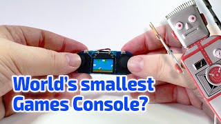 TINY WORKING HANDHELD GAMES CONSOLE Miniature by TinyScreen