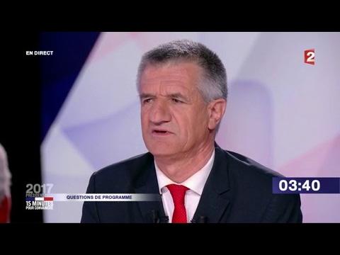 """Jean Lassalle dans """"15 minutes pour convaincre"""" sur France 2"""