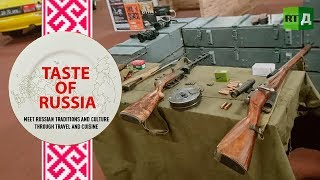 Patriot: Playing soldier and making appetisers for 'real men' - Taste of Russia Ep.15
