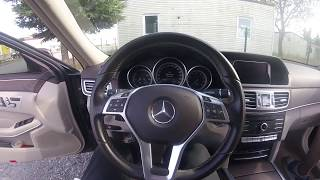 Mercedes-Benz E180 2015 Model 51 Bin KM I TEST