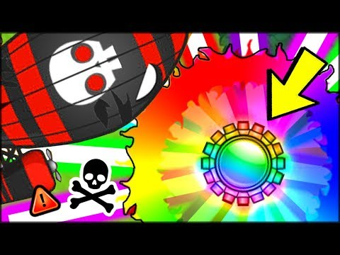 """🌈 THE """"DO NOT BUY"""" RING OF RAINBOW TACK MONKEY (NEW MAX DAMAGE IN BLOONS TD BATTLES) 
