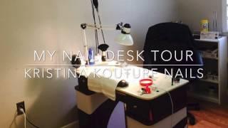 Nail Table Tour | Kristina Kou…