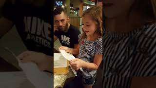 BEST fathers day suprise gift ever. Daughter ask her step dad to adopt her!!! WARNING: YOU WILL CRY!