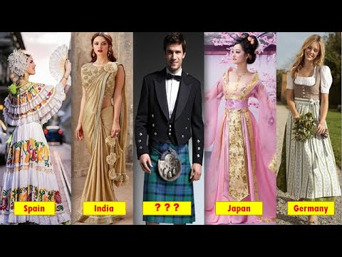 Top 10 Most Beautiful Traditional Dresses In The World