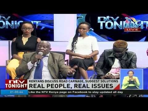Kenyans discuss road carnage, impact and solutions