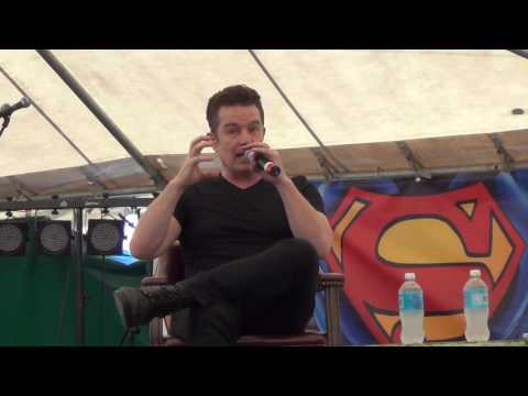 James Marsters Q & A Session at the Superman Celebration Metropolis, Ill. June 10th 2017 .