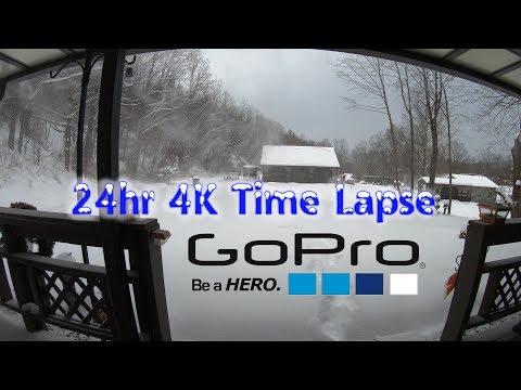 4K 24 Hour Time Lapse - GoPro Hero7 Black [4K]