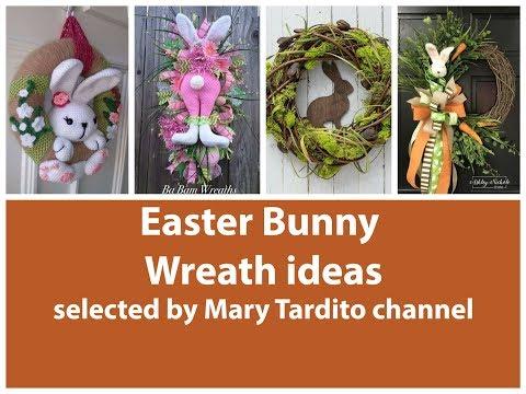 Easter Bunny Wreath ideas - Easter Decorations Ideas