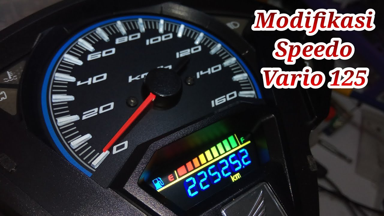 Wiring Diagram Speedometer Vario 125