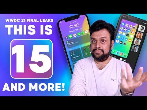 iOS 15, iPadOS 15 Final Leaks & Renders Before WWDC 2021 in Hindi