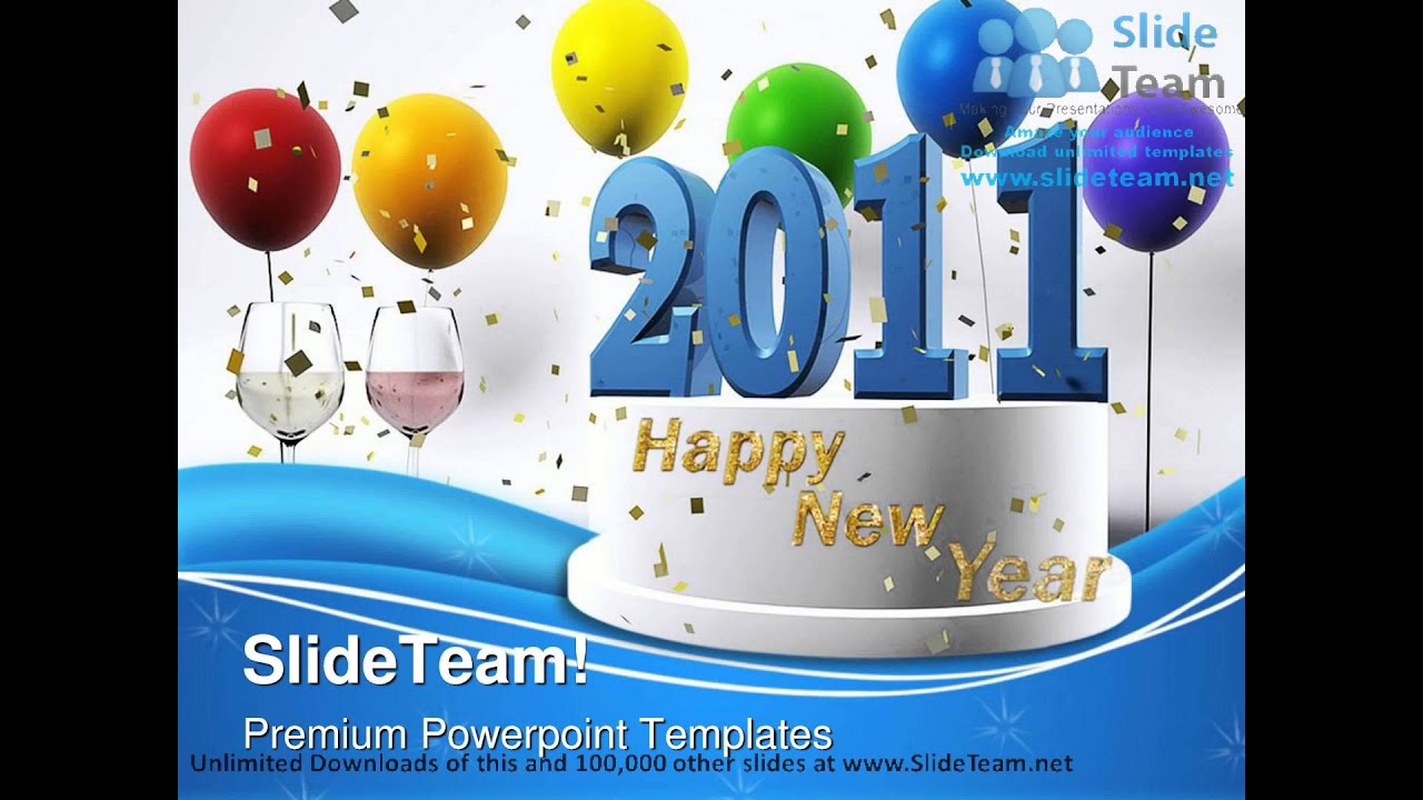 happy new year events powerpoint templates themes and backgrounds ppt themes