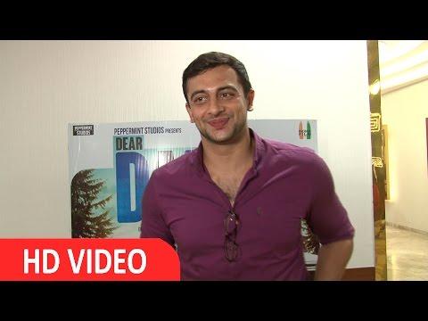 Arunoday Singh At The Screening Of Film Dear Dad