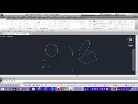 4 - Snap Grid and Ortho mode in Autocad...