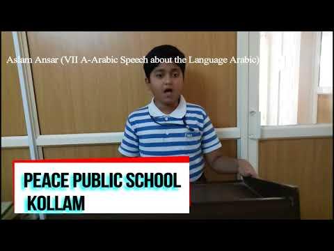 Arabic speech about Language