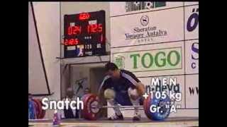 Men +105 kg 2001 World Weightlifting Championships - Antalya- by GENADI - Weightlifting Expert